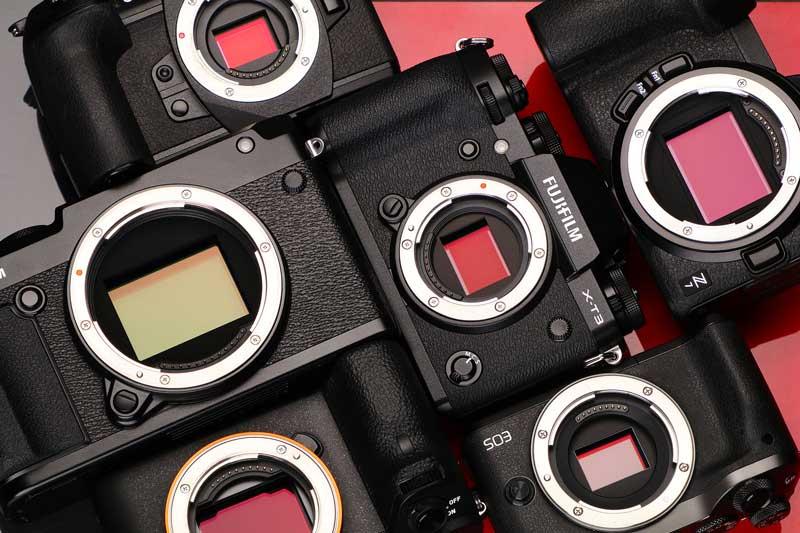 سنسور دوربینهای دیجیتال