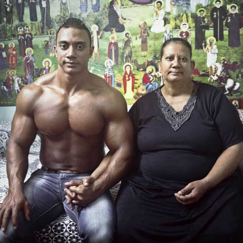 Egypt, Mother and Son by Denis Dailleu